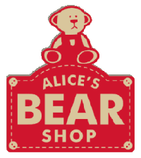 Image result for alice's bear shop logo