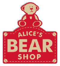 Image result for alice's bear shop logo