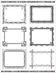Labels With Border Free Decorative Border Pack Graphics By Cathe Holden Free
