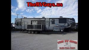 cyclone 4200 toy hauler by heartland rv true luxury in a 5th wheel toy hauler