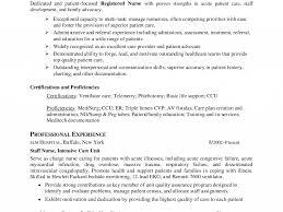 Comely Critical Care Nurse Skills For Resume Creative Resume Cv