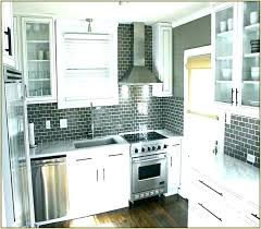 Dark White Grey And Tile Backsplash Nearest Home Improvement ...