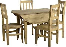 ebay uk pine kitchen chairs. corona circular round drop leaf mexican pine dining table and 4 chairs new   ebay ebay uk kitchen t