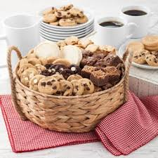 mrs fields cookies and brownies gift basket