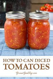 canning crushed or diced tomatoes