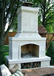 prefabricated outdoor fireplace prefab kits canada