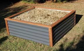corrugated metal raised garden beds. Raised Garden Beds Kris Allen Daily Corrugated Metal E