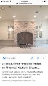 white wash fireplace help