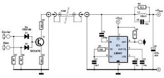 lnb cable data transceiver circuit raul s diagrams collection lnb cable data transceiver circuit