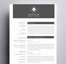 Resume Templates Pages Elegant Resume Example Free Creative Resume