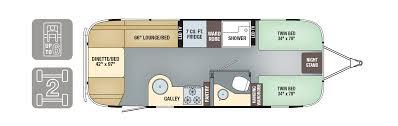 airstream floor plans. Floorplans - Flying Cloud 25FB Twin Airstream Floor Plans O