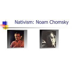 "nativism noam chomsky john locke "" essay concerning human  1 nativism noam chomsky"