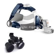 2.5X420mm <b>Medical Loupes Binocular</b> Magnifier <b>Medical</b> Dental ...