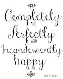 "Jane Austen Pride and Prejudice 8x10 Art Quote ""Completely ... via Relatably.com"