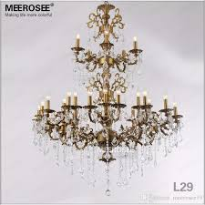 luxurious large gold silver color crystal chandelier lamp crystal re light fixture 3 tiers 29 arms hotel restaurant lamp white chandelier orb chandelier