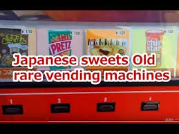 Chip Vending Machine Magnificent Japanese Potato Chip Vending Machine YouTube