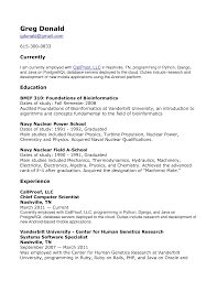 Bioinformatics Resume Sample Machinist Mate Resume Example Navy Examples Of Letter Of Intent 67
