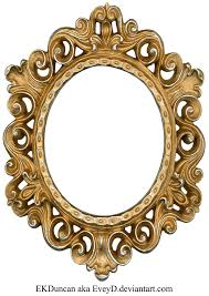 silver antique picture frames. Vintage Gold And Silver Frame - Oval By ~EveyD On DeviantART Antique Picture Frames S