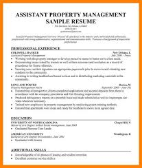 Assistant Property Manager Resume Sample Assistant Property Manager
