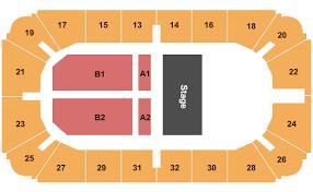 Hobart Arena Seating Chart Troy