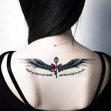Tattoo Wings For Girls с бесплатной доставкой на Aliexpresscom