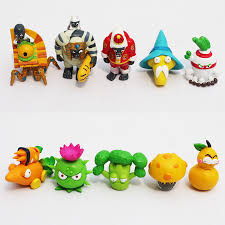 pvz plants vs zombies 2 it s about time pvc figures collectible model toys dolls 10pcs set