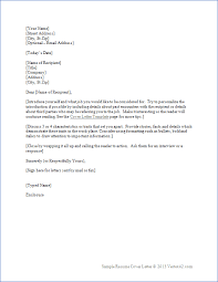 Examples Of Cover Letter For Resumes