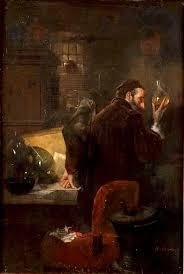 The Alchemist Painting   Albert Adamo Oil Paintings