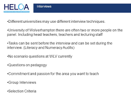 interview questions for headteachers changes to routes into teaching ppt video online download