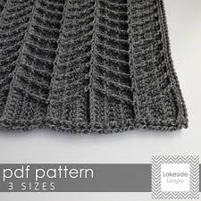 Chevron Crochet Blanket Pattern Awesome Ravelry Hayden Chevron Blanket Pattern By Lakeside Loops