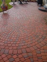 Circular Paving Patterns Magnificent Decorating Design