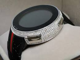 gucci mens i digital white diamond watch 4 ct ya114207 72% off gucci mens i gucci digital white diamond watch 4 ct ya114207