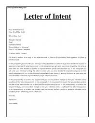 letter of intent purchase business sample resumes personal and of it