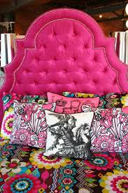 Adorable Pink Tufted Headboard 1000 Ideas About Pink Headboard On Pinterest  Girls Headboard