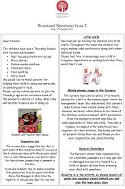 october newsletter ideas october newsletter issue 2 rosewood nursery