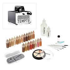 temptu pro s b airbrush intro1 kit with s one air pressor