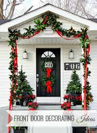 christmas front door decorationsBusiness In the Front Party in the Back  Thistlewood Farm