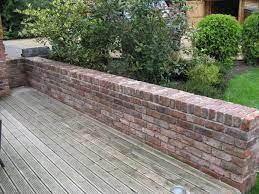 brick wall gardens garden wall small