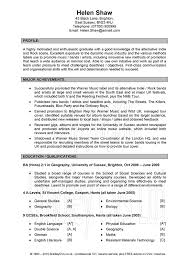 Great Resume Examples Inspiration Good Cv Writing Format