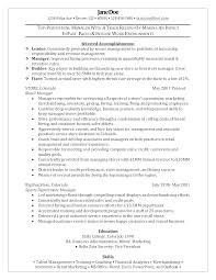 Retail Management Resume Sample Retail Manager Resume Sample Retail Inspiration Resume Sample For Store Manager