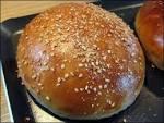 Pain burger boulangerie