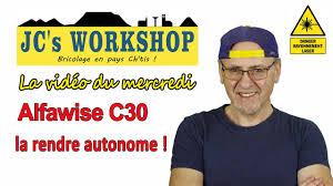 CNC à 160€: <b>ALFAWISE C10</b> et C30