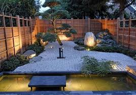 serene zen garden in equilibrium