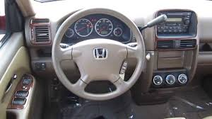 2003 Honda CR-V, Red - STOCK# B2249 - Interior - YouTube