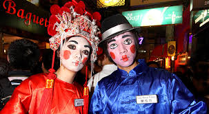 Halloween Offers Hong Kong, The Fast Paced And Highly Modern City, A Way To  Release Your Pressure In A Fun Way.
