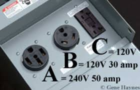 120 volt rv wiring rv connection a 14 50r 240 vac 50 amp b tr 30r 120 vac 30 amp c 6 20r 120 vac 20 amp