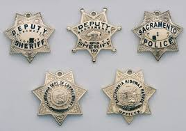 officer badge pendants