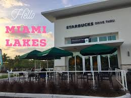 unicorn frapps and a greener starbucks in miami lakes