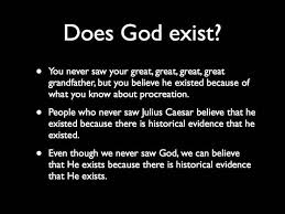 does god exist philosophy