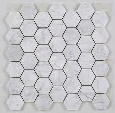 carrara marble hexagon tiles bianco carrara marble hexagon tile 2 hex mosaic white marble bathrooms marble carrara marble hexagon tiles